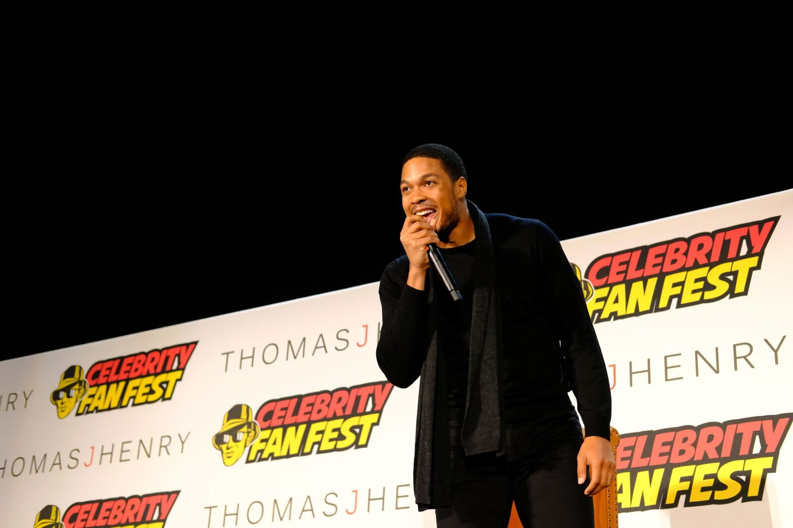 Ray Fisher Panel at Celebrity Fan Fest 2018