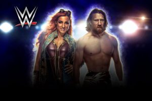 WWE wrestlers Daniel Bryan and Becky Lynch