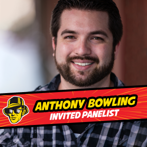 Anthony Bowling invited panelist at Celebrity Fan Fest, San Antonio's premier comic con
