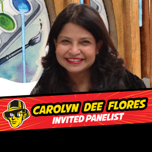 Carolyn Dee Flores invited panelist at Celebrity Fan Fest, San Antonio's premier comic con