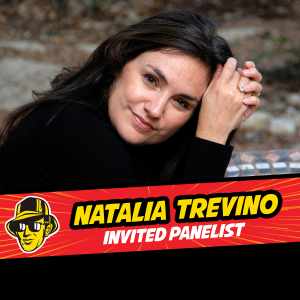 Invited panelist Natalia Trevino at Celebrity Fan Fest, San Antonio's premier comic con