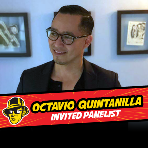 Invited panelist Octavio Quintanilla at Celebrity Fan Fest, San Antonio's premier comic con