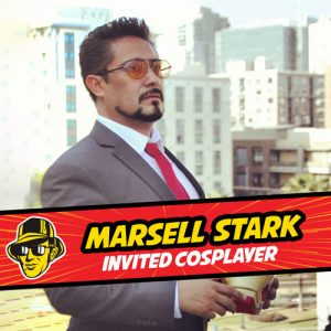 Invited cosplayer Marsell Stark at Celebrity Fan Fest, San Antonio's premier comic con