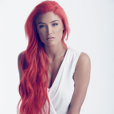Eva Marie with white top