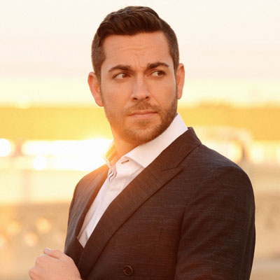 Zachary Levi in suit