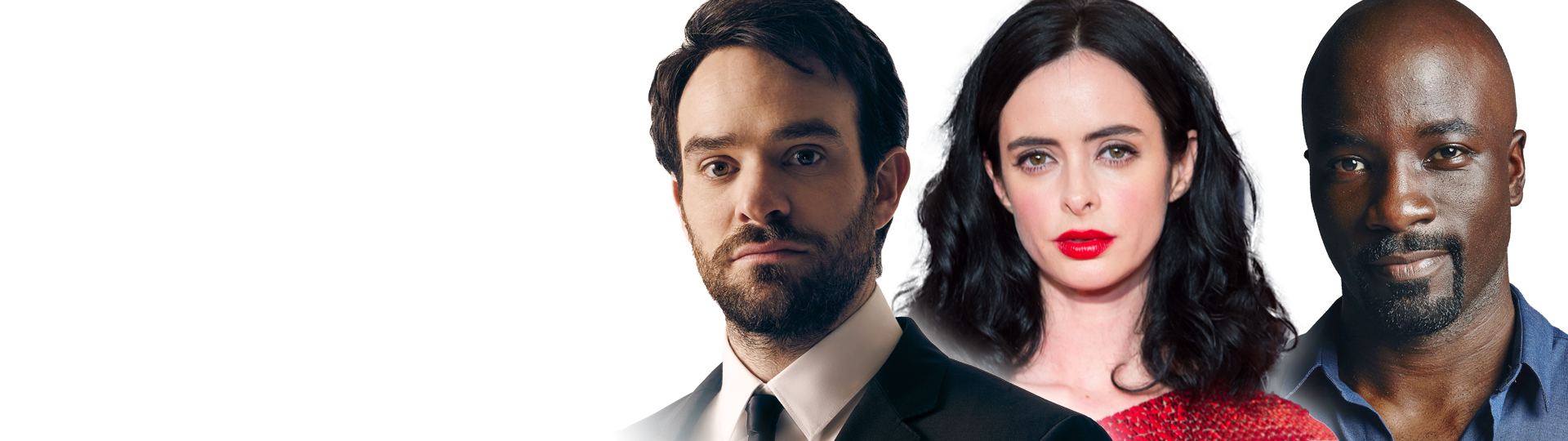 Charlie Cox, Krysten Ritter, Mike Colter