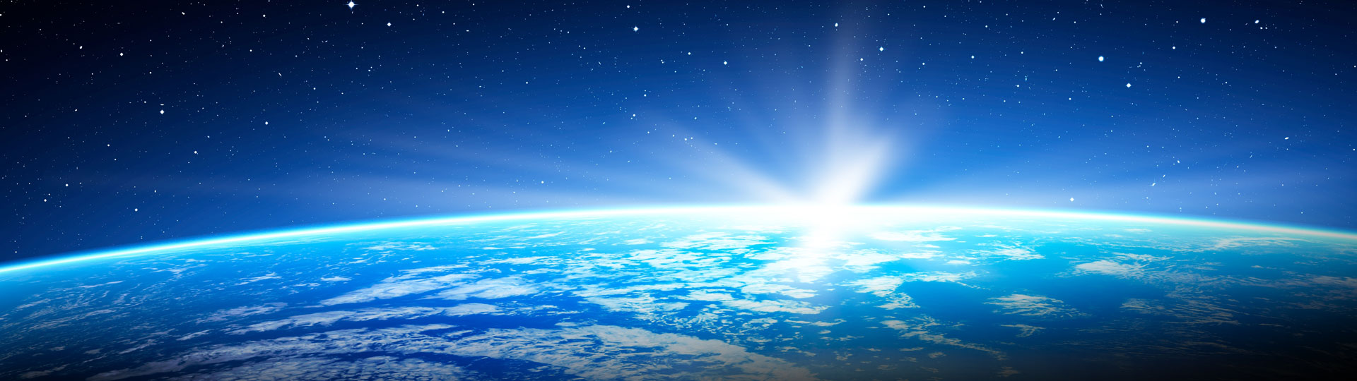 outer space and earth background