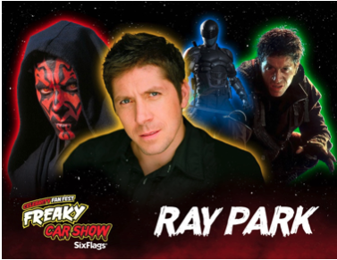 Ray Park announcement